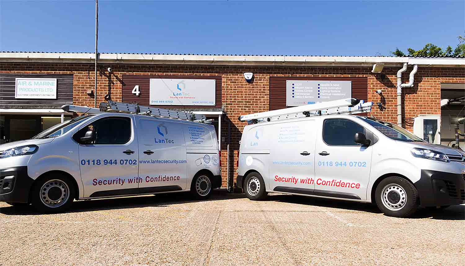 Lantec Security - CCTV, Intruder Alarm, Audio Visual Specialists Berkshire