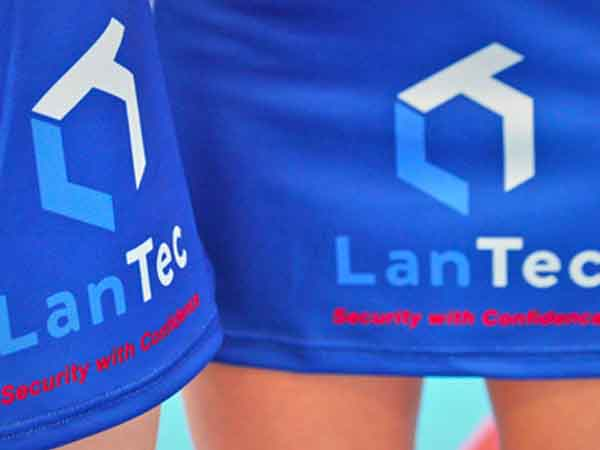 Lantec Security Sponsor Girls Netball Team